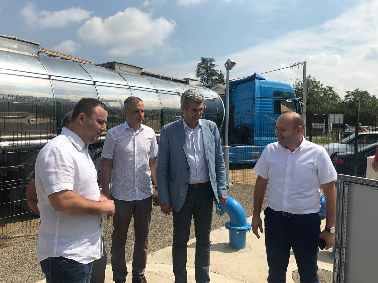 Пуштена у рад канализација у насељу Шљивице