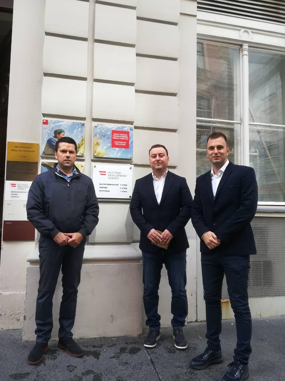 Делегација општине у посети Аустријској развојној агенцији