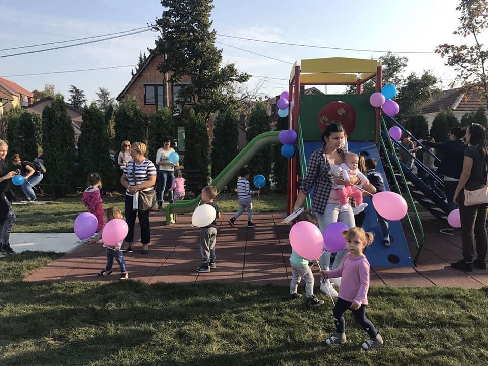 Отворено обновљено игралиште у Влашкој башти