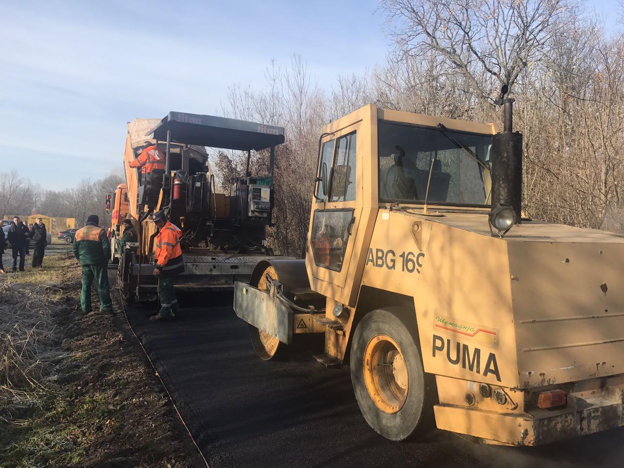 Започета санација локалних путева који су оштећени због изградње аутопута