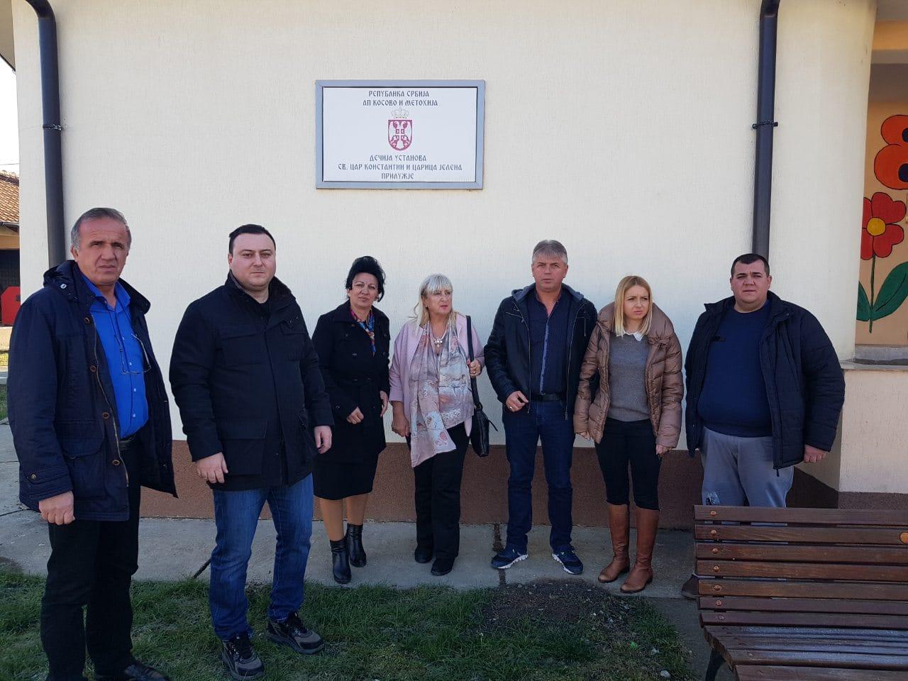 Чучковић посетио српско насеље Прилужје на Косову и Метохији