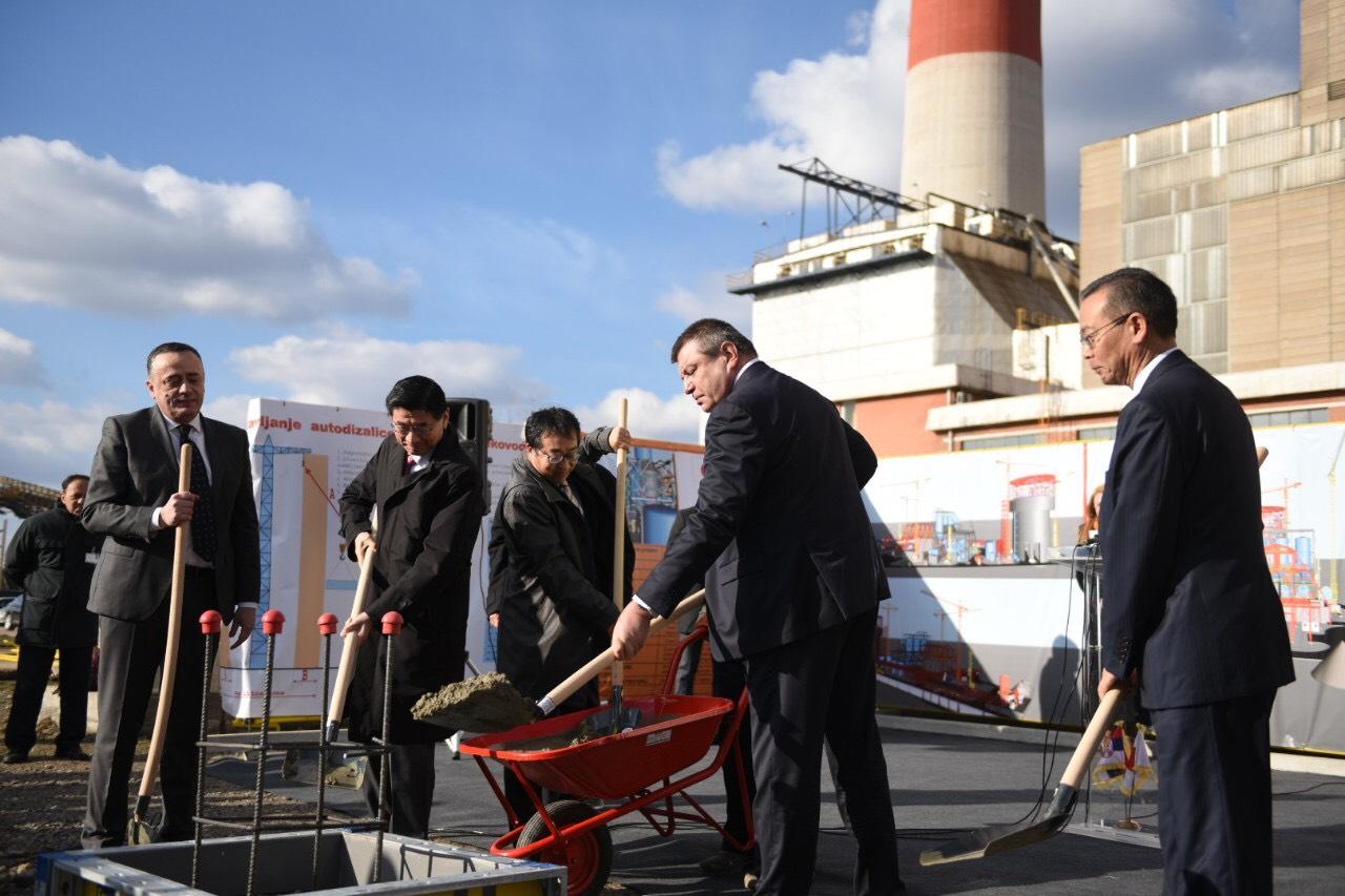 Почела изградња постројења за одсумпоравање димних гасова