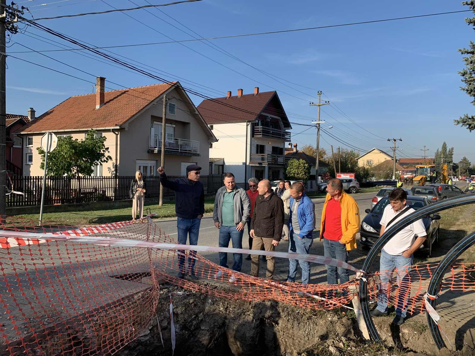 Настављају се радови на реконструкцији водоводне мреже