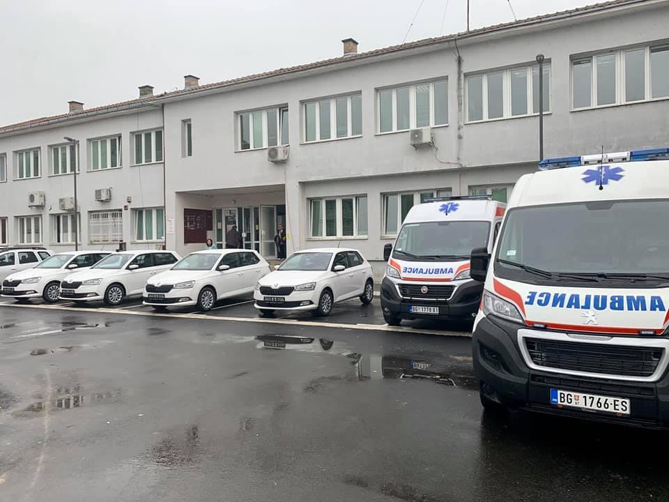ЕПС донирао нова возила Дому здравља у Обреновцу