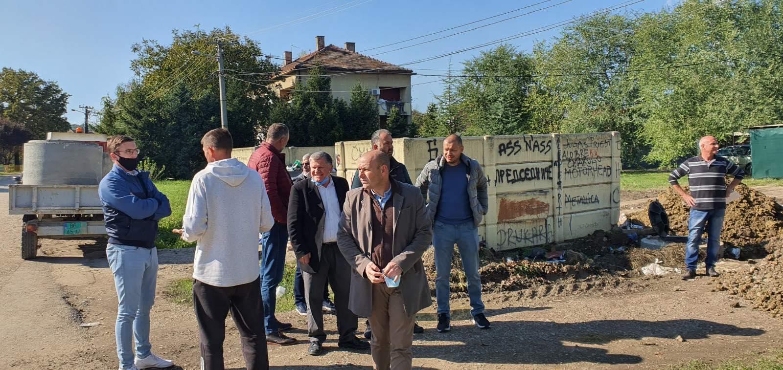 У току су радови на санацији делова канализационе мреже на простору месне заједнице Барич