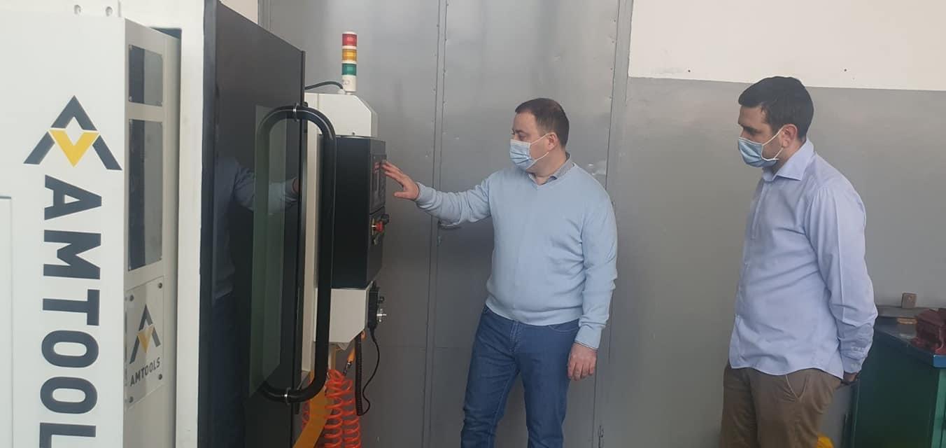 Стигле ЦНЦ машине у Техничку школу Обреновац