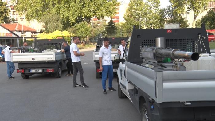 Акција запрашивања комараца спроводи се широм општине Обреновац
